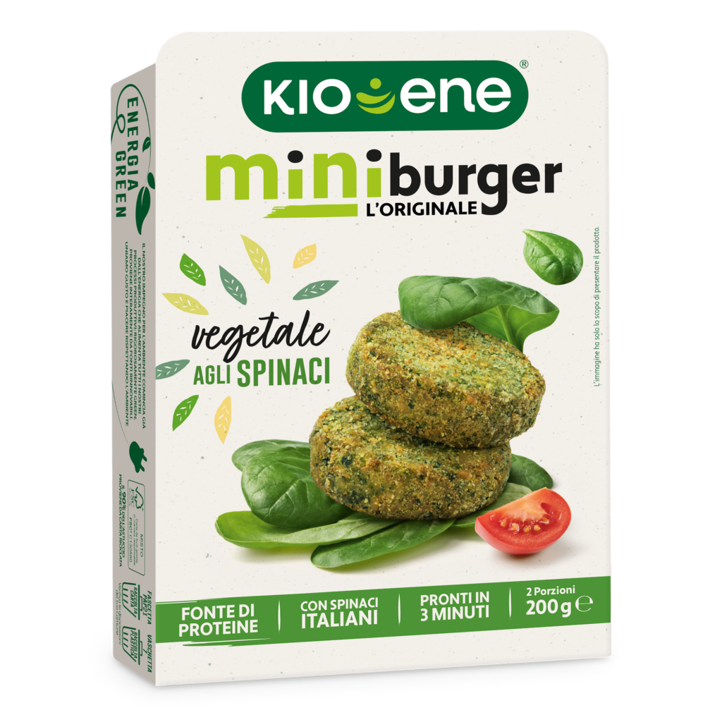 Mini Veggie Burgers with Spinach